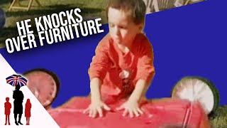 Aggressive Child Throws Garden Furniture - Supernanny Us