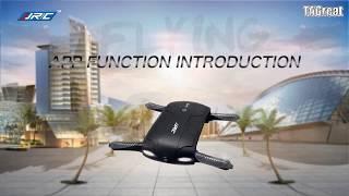 jjrc h37 elfie foldable selfie drone instruction how to use user manual