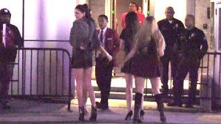 Kendall And Kylie Jenner Cause Fan Chaos At KIIS FM's Jingle Ball [2012]