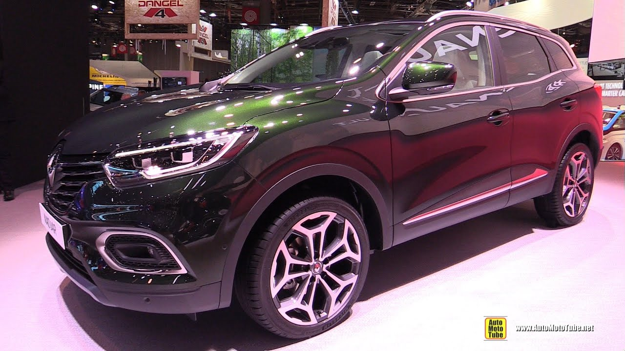 2019 renault kadjar exterior and interior walkaround. Black Bedroom Furniture Sets. Home Design Ideas