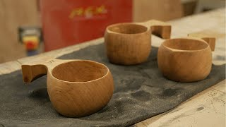 Making Some Wooden Cups!