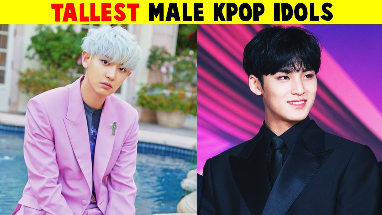 15 Tallest Male Kpop Idols 2020 Youtube