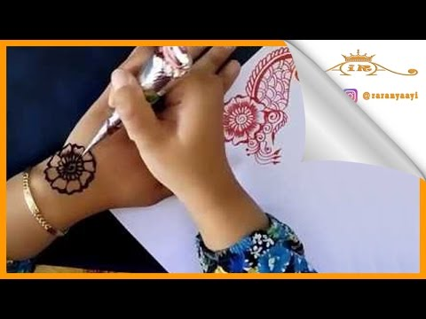 Learning Henna Painting for Beginners (continued)