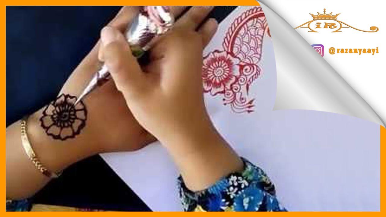 Belajar Melukis Henna Untuk Pemula Lanjutan Youtube