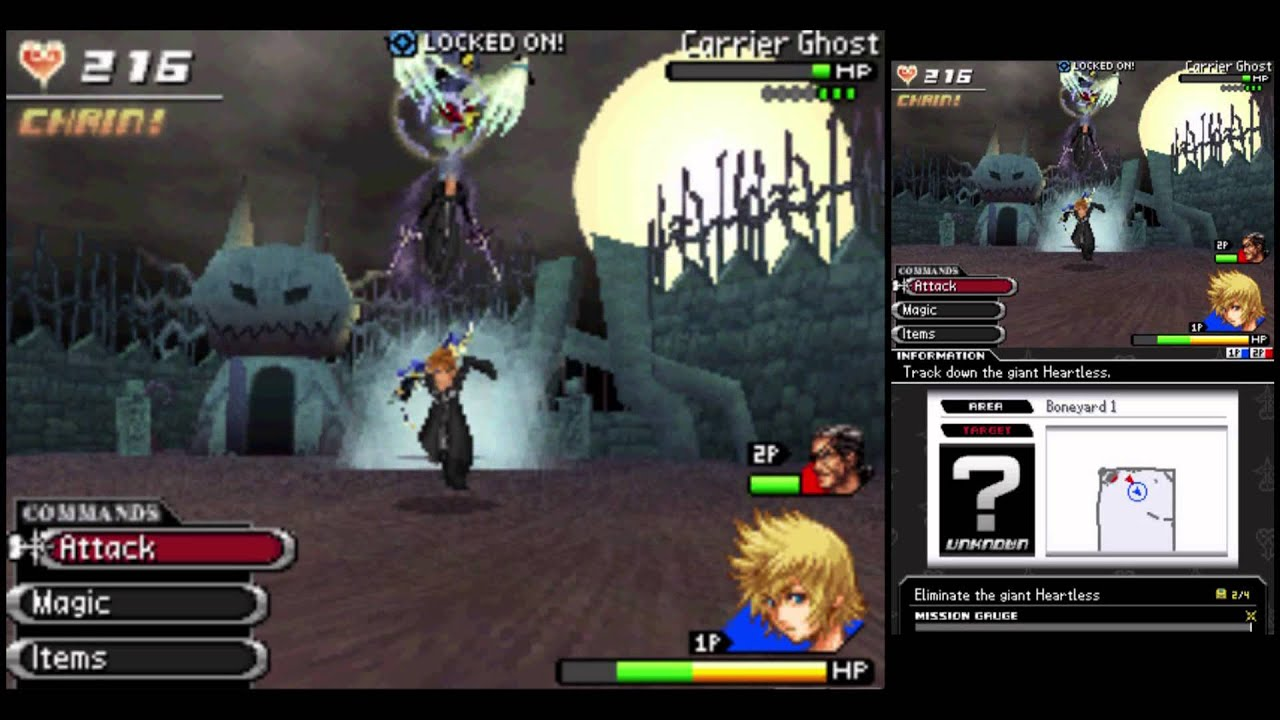 kh 3582 days playthrough 146 day 303 m79 chill ripper in halloween town - Roxas Halloween Town