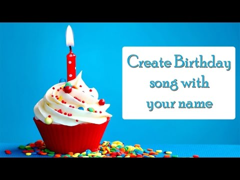 Create Birthday Song With Your Name In Telugu Youtube