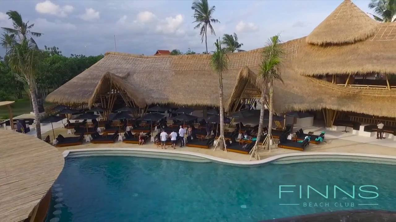 Finns Beach Club - Canggu - YouTube