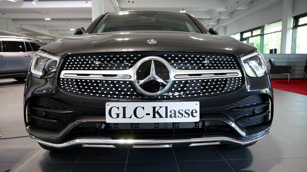 Thiết kế ngoại thất trên Mercedes GLC 300 bản E mới