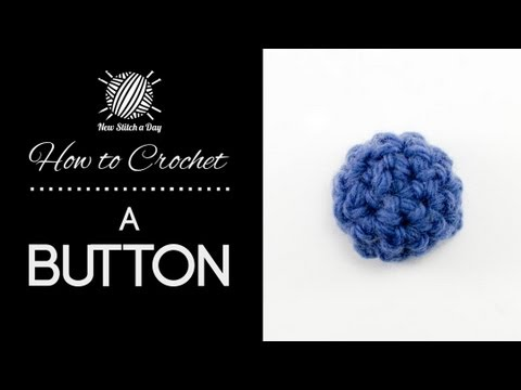 How to Crochet a Button