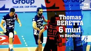 Top Moments Gi Group Monza: Thomas Beretta 6 muri vs Ravenna