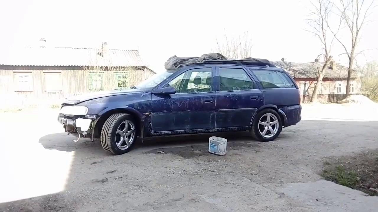 Opel Vectra B,подготовка,пакраска.