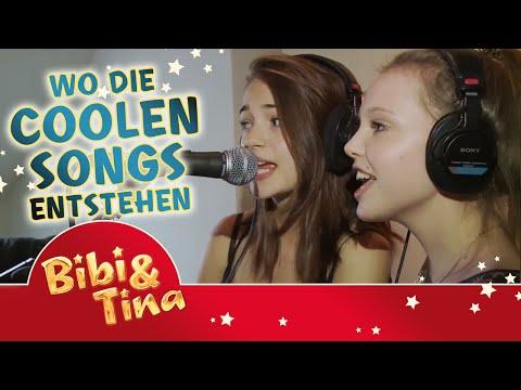 Bibi & Tina MÄDCHEN GEGEN JUNGS - wo die coolen Songs entstehen...