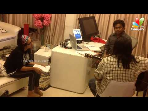 Making of Enga Pona Rasa | Tamil Songs | Mariyaan Song Making | AR.Rahaman, Dhanush