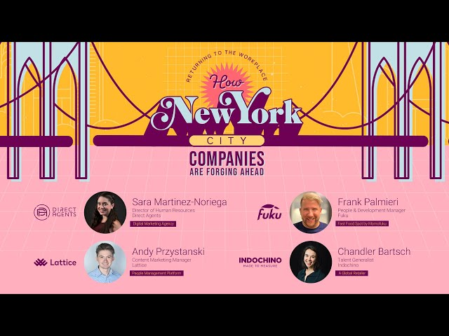 Direct Agents: Returning to the Workplace- How NYC Companies are Forging Ahead Webinar