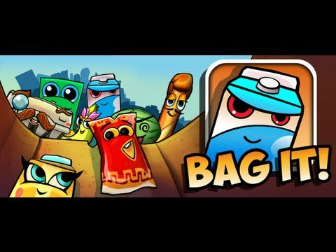 Bag It! HD - iPad 2 - HD Gameplay Trailer