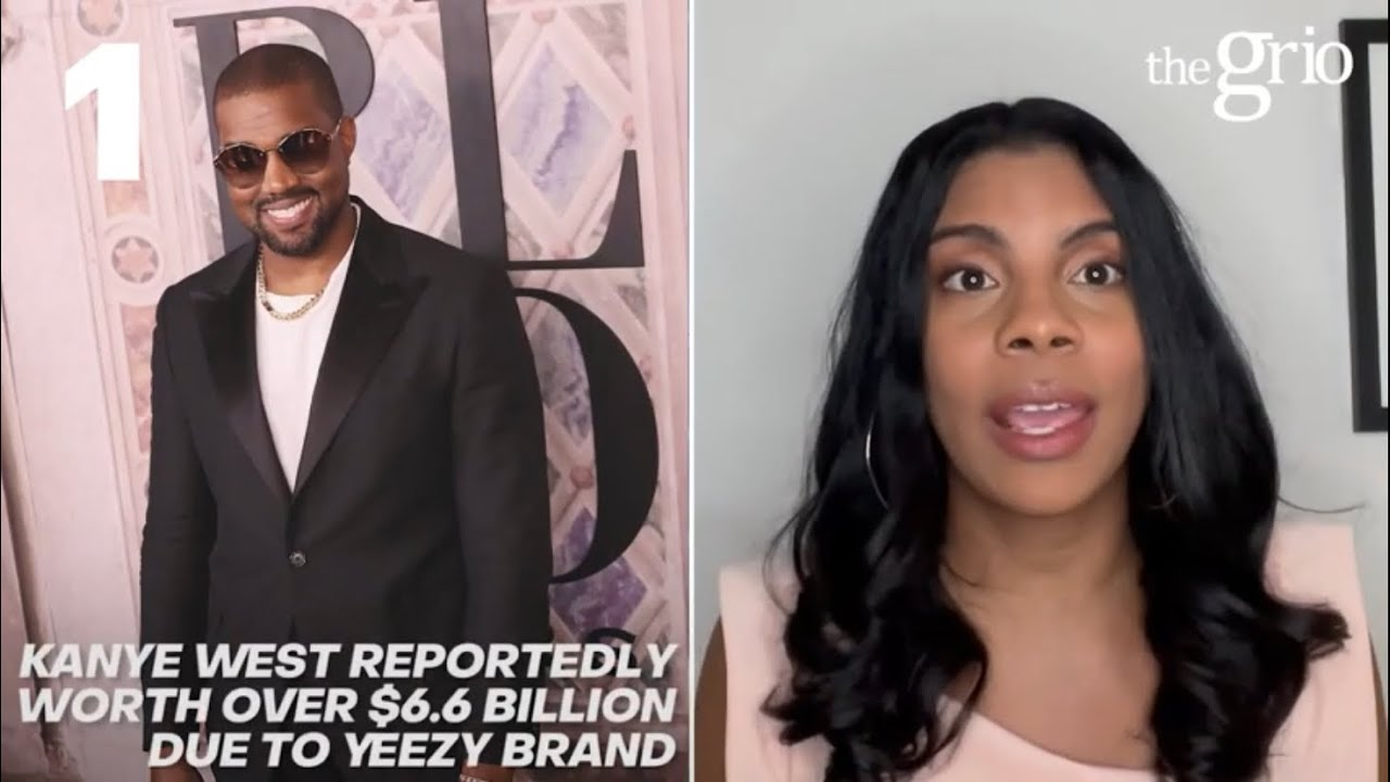 Kanye West reportedly worth over 6.6 billion due to Yeezy brand| Grio Top 3