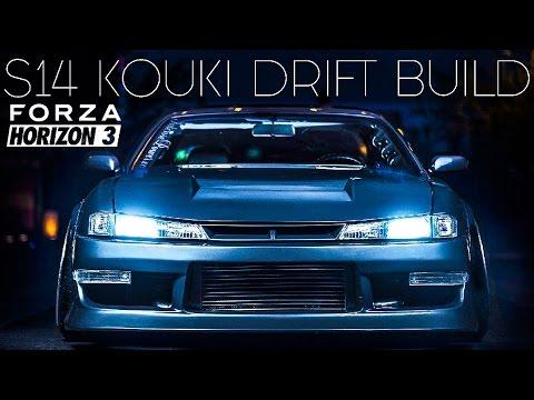 Forza Horizon 3 Drifting - Nissan Silvia S14 Kouki Build + UPDATE!