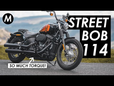 Why The 2021 Harley-Davidson Street Bob 114 Might Be My New Favourite Harley! First Ride & Review