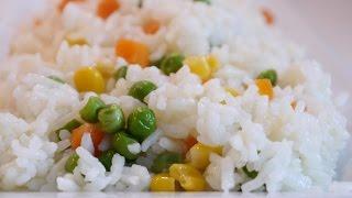 Sebzeli Pirinç Pilavı Tarifi | Sebzeli Pirinç Pilavı Nasıl Yapılır