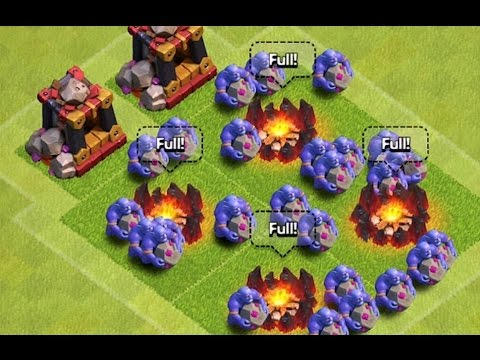 THE BOWLER ATTACKS! | Clash Of Clans | '' NEW DARK BARRACK/ELIXIR UNIT '' '' New Update''