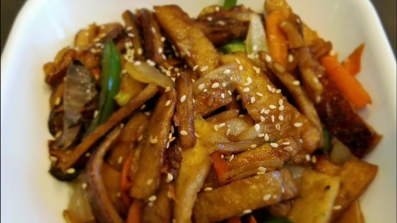 Fish Cake Stir Fry Korean Fish Cake Side Dish Using Pinoy Ingredient As Substitute Youtube