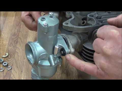 Raber's Tech Tips: Episode #6 - Triumph 1971 T120 Bonneville Amal Carb O-ring Installation