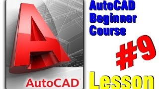Autocad Beginner Course - Insert Pattern With Hatch (lesson 9)