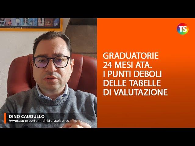 Graduatorie 24 mesi Ata: i punti deboli delle tabelle di valutazione