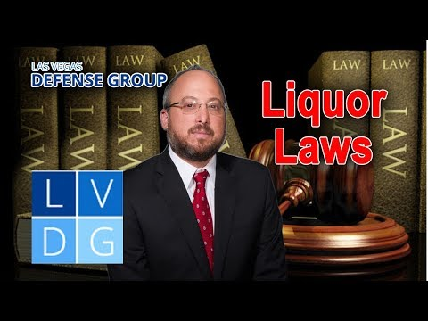 Nevada liquor laws – 5 key things to know
