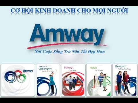 OPP Cơ Hội Kinh Doanh Cùng Amway - Chuẩn Nhất