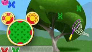 mickey mouse clubhouse minnie s flutterin butterfly bow game   new latest game 2014   disneyjr