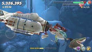 Hungry Shark World Zombie Shark Android Gameplay #9