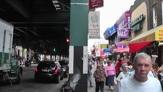 To Coney Island NYC By Subway Train (Fall 2008)