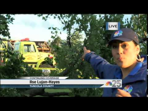 NBC 25 TODAY: Mother Natures Touches Down On Tuscola County's Millington