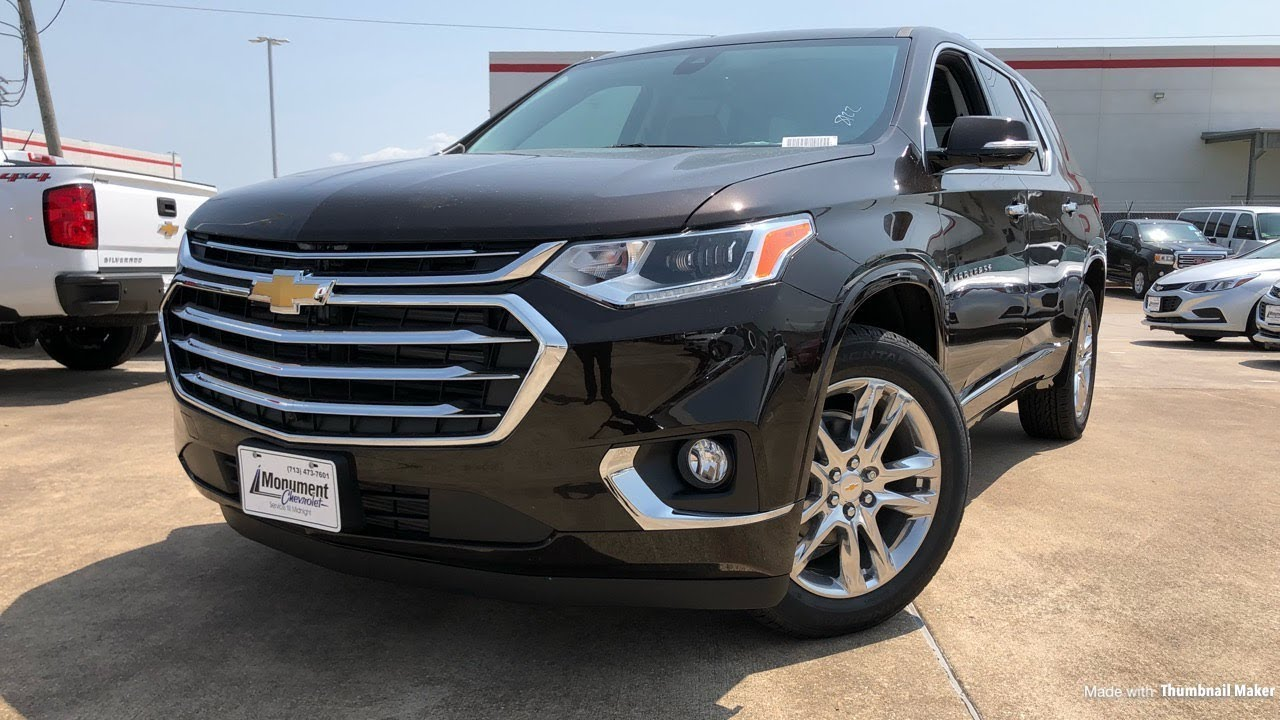 2019 Chevrolet Traverse High Country Awd 3 6l V6 Review