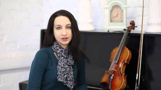 Видео-приветствие преподавателя по классу скрипки  Рогозиной Анны Николаевны