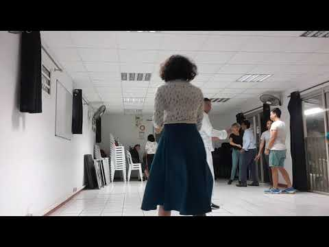 LIndy Hop Jean Charles & Katy Reunion  Class Inter Review