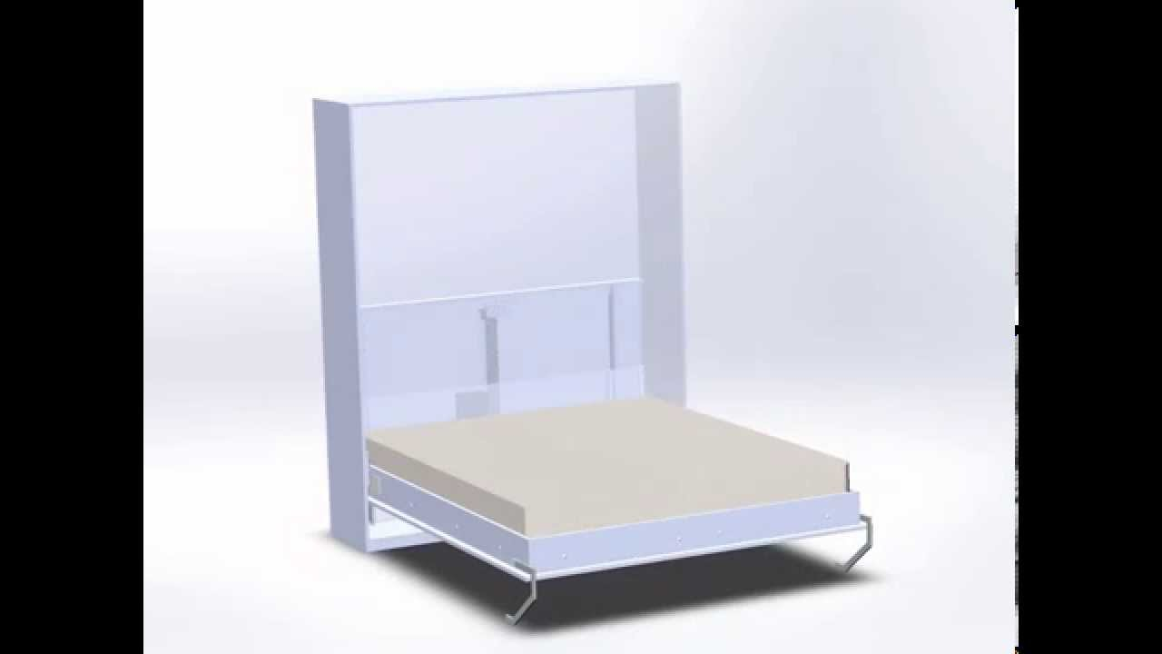 Innowacyjne Zautomatyzowane łóżko Pionowo