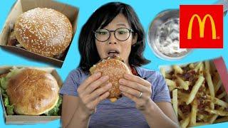 McDonald's Worldwide Favorites - tasting ALL the items - Spain Netherlands Australia & Canada