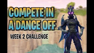 FORTNITE - COMPETE IN A DANCE OFF AT AN ABANDONED MANSION [SEASON 7 BATTLE PASS]