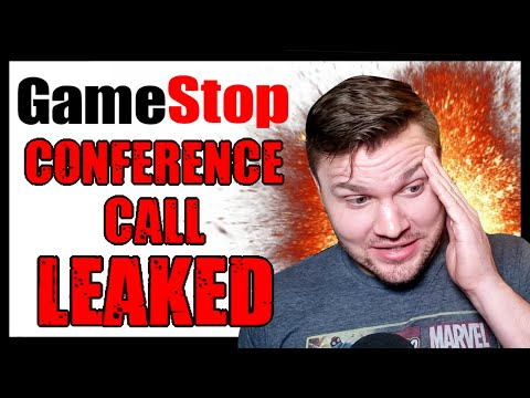 I Sneaked On To A Gamestop Regional Conference Call   This Was The Result
