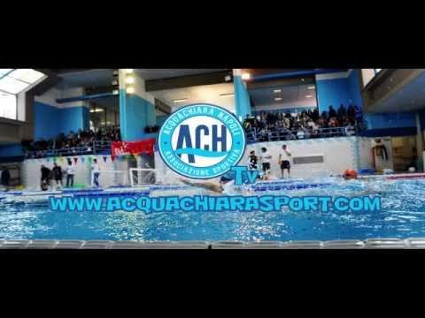 Spot piscina coperta acquachiara mostra d 39 oltremare 2014 for Piscina mostra d oltremare
