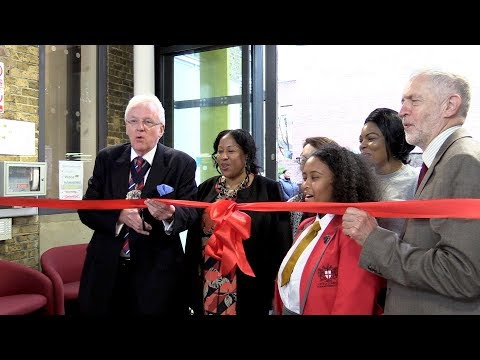 Lord Mayor and Jeremy Corbyn open new City of London Academy