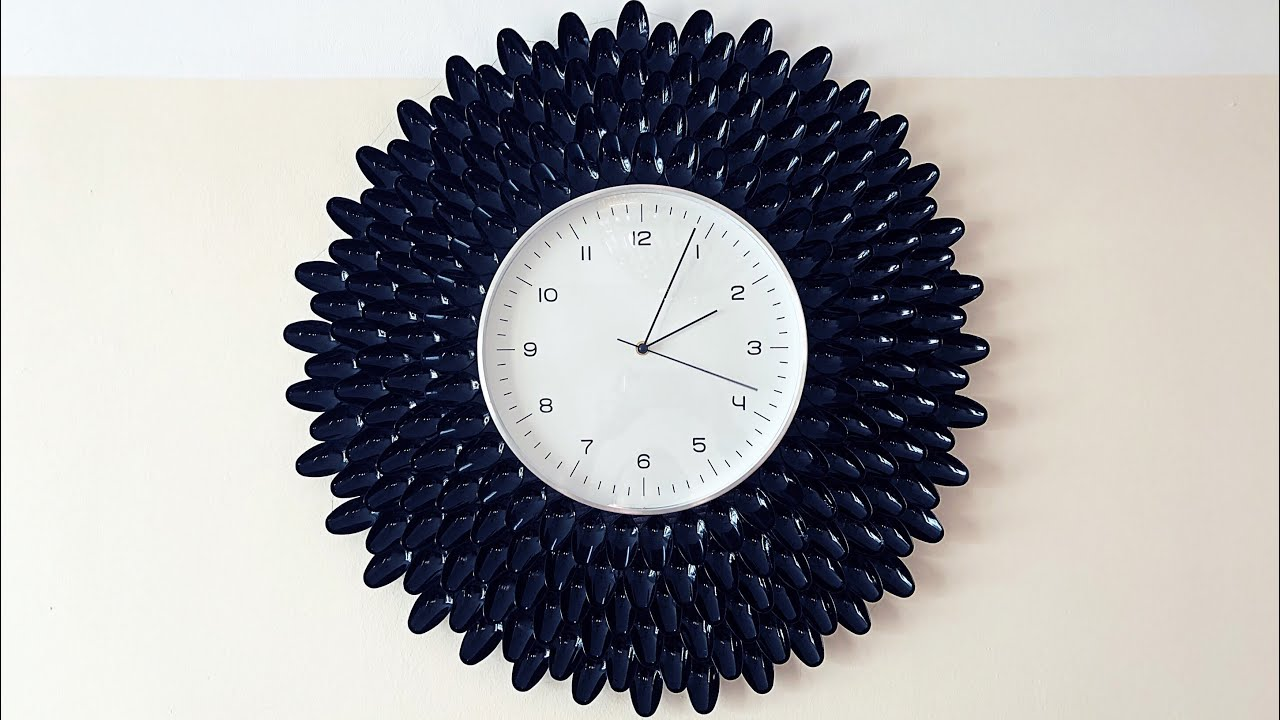 Maman DIY : Cheap and Easy Wall Clock Decoration Ideas - YouTube