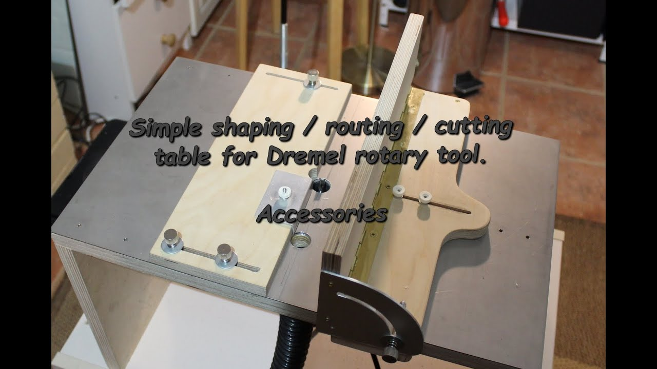 Finishing simple cheap cutting shaping routing for Diy dremel router table