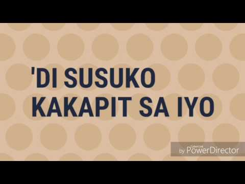 CHRISTIAN BAUTISTA - KAPIT LYRICS
