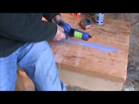 Ink Lines vs Chalk Lines for Log Builders