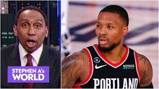 'Have we lost our damn minds?!' - Stephen A. on Dame not being All-Star starter | Stephen A's World