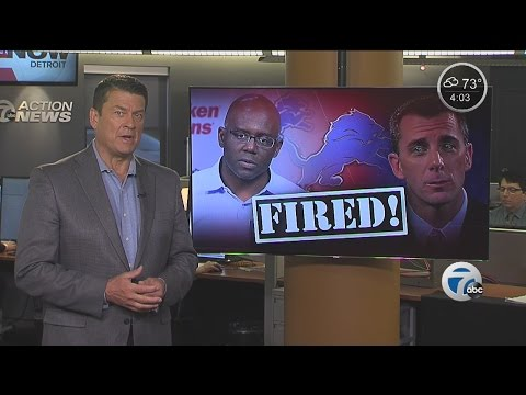 Detroit Lions fire Mayhew and Lewand