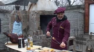мужская кухня. Ребра на углях